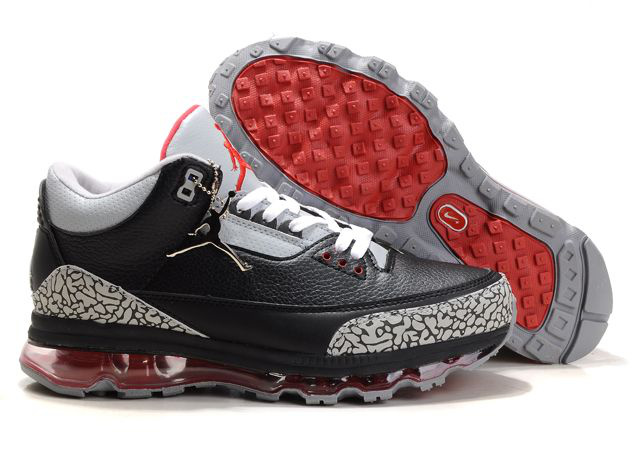 Jordan 3 Air Max black/white/red VI