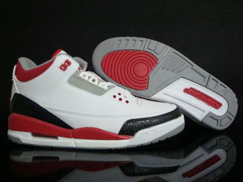 Jordan 3 Air Max black/white/red VII