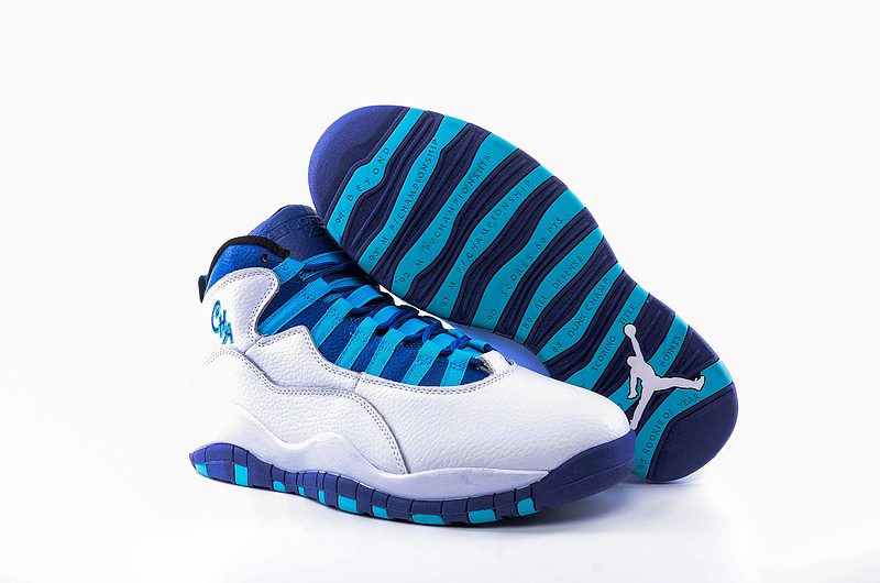 Air Jordan 10 Retro White/Blue Lagoon/Black/Concord