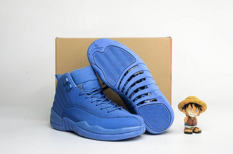 Air Jordan Retro 12 Blue Suede