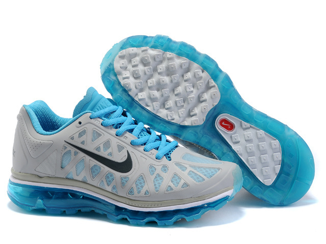Air Max 2011 Women Shoes deepskyblue/white/gray II