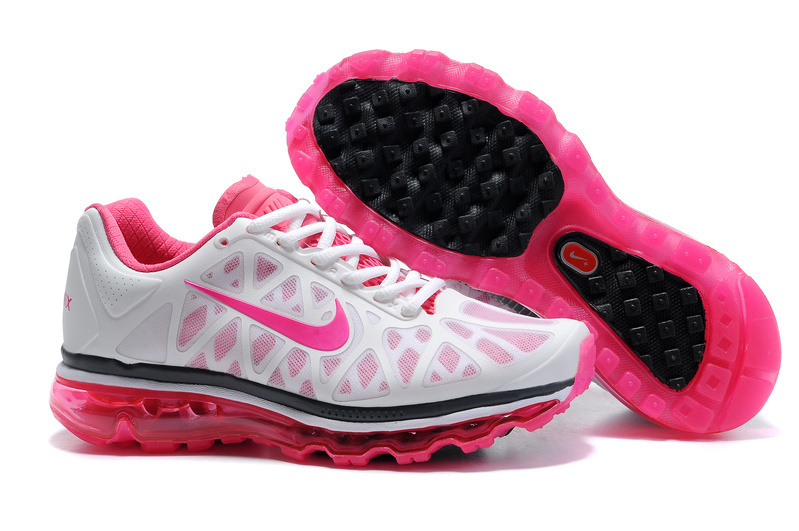 Air Max 2011 Women Shoes black/white/deeppink II