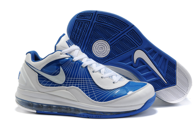 Air Max 360 BB Low white/blue