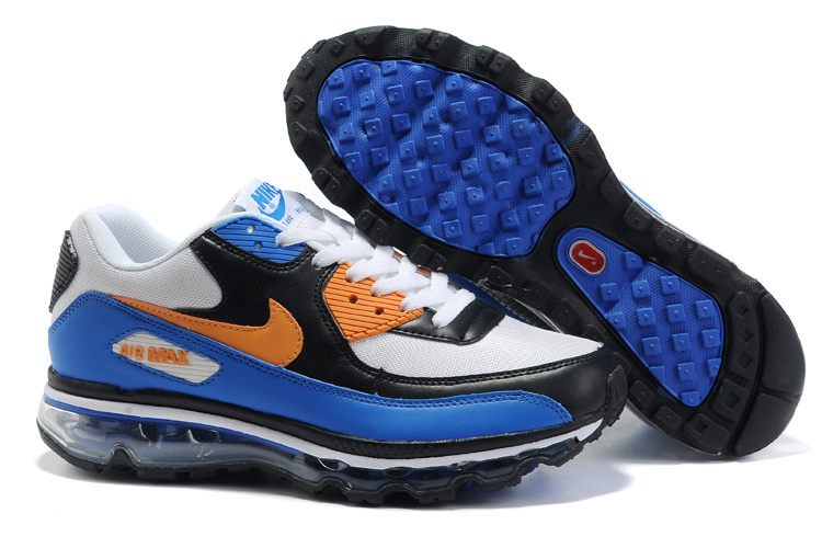 Air Max 90 2009 white/black/blue