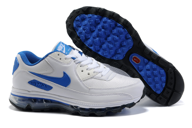 Air Max 90 2009 white/black/blue II