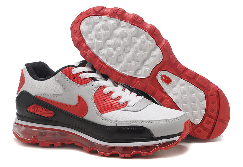 Air Max 90 2009 white/black/red/gray