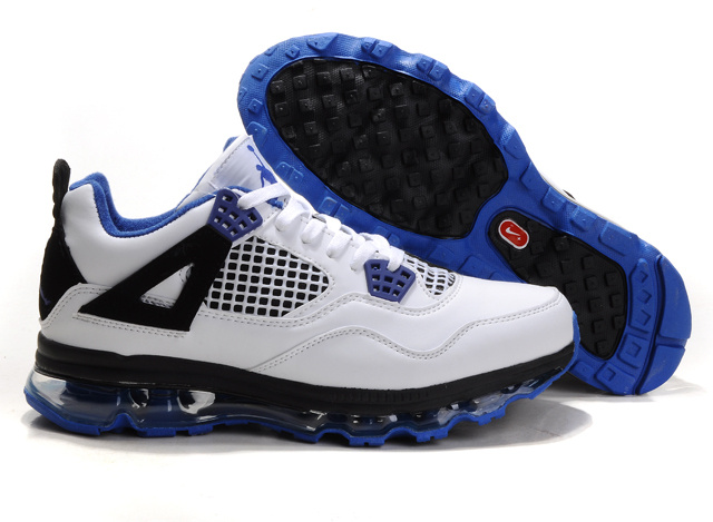 Air Max Jordan 4 black/white/blue