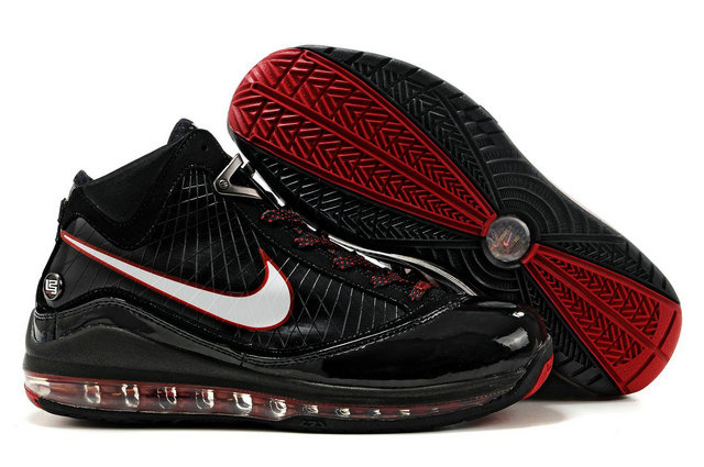 Nike Lebron 7 white/black/red