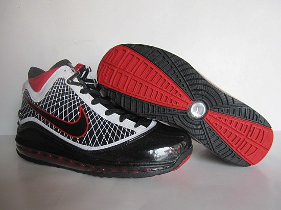 Nike Lebron 7 white/black/red II