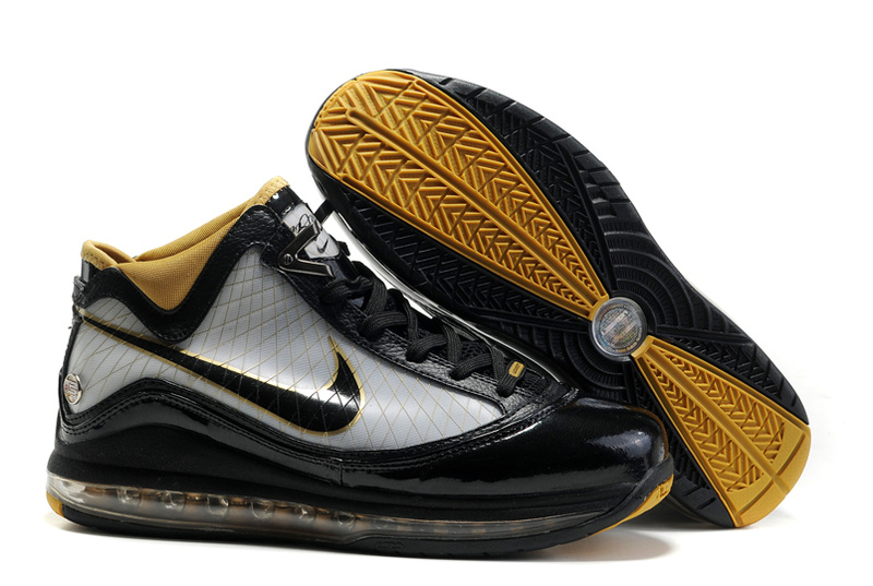Nike Lebron 7 white/black/gold III