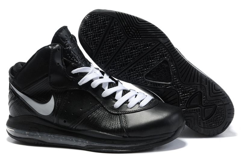 Nike Lebron 8 black/white