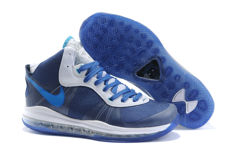 Nike Lebron 8 white/blue