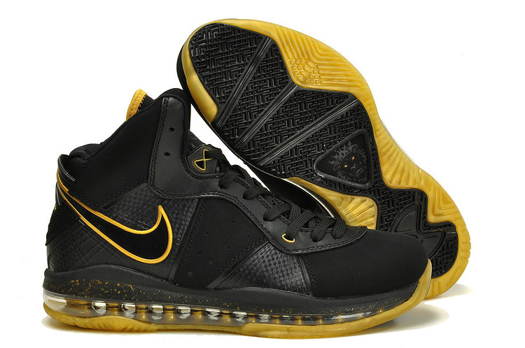 Nike Lebron 8 black/gold