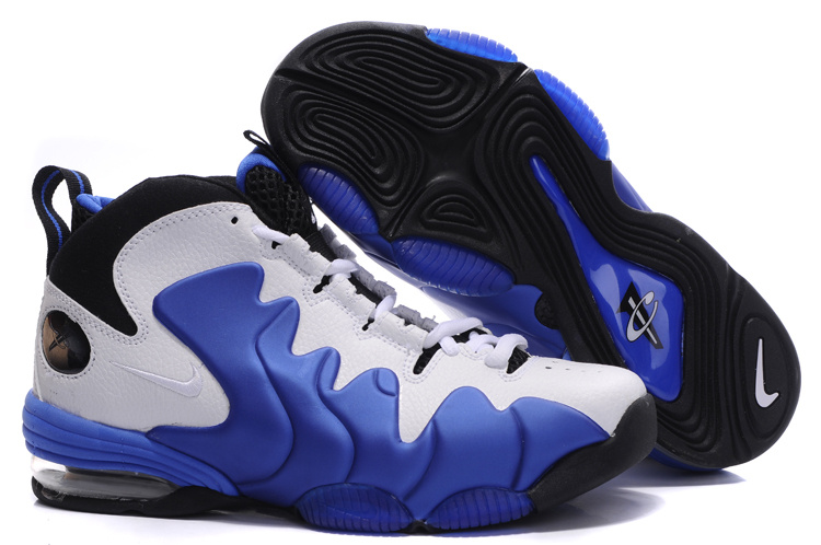 Air Penny 3 black/white/blue
