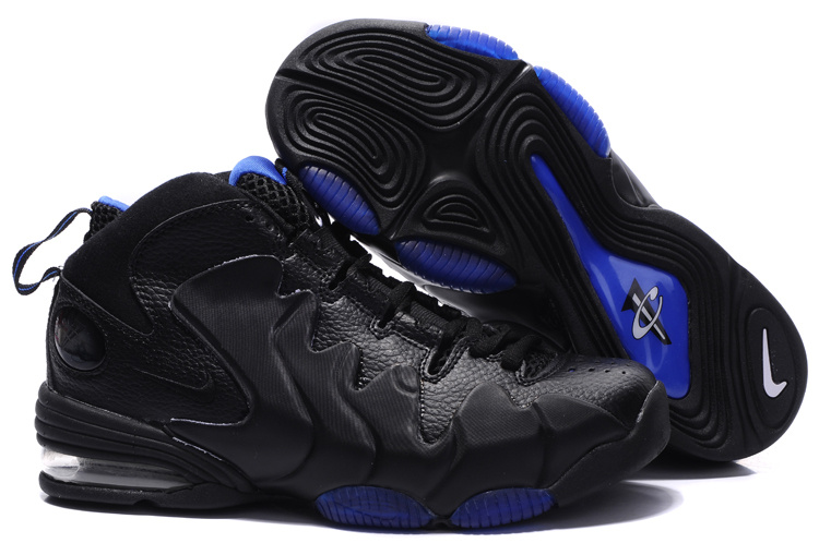 Air Penny 3 black/blue