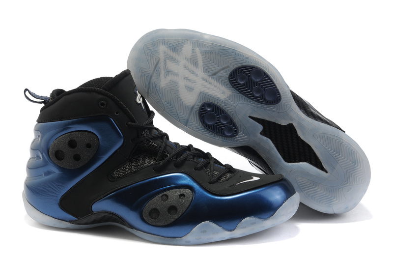Penny Hardaway III Shoes black/blue
