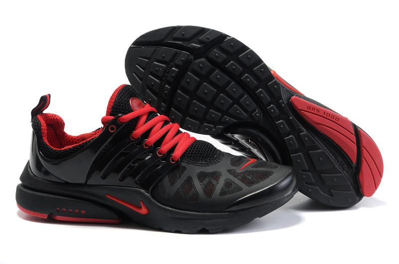 Nike Air Presto Running Shoes black/red III
