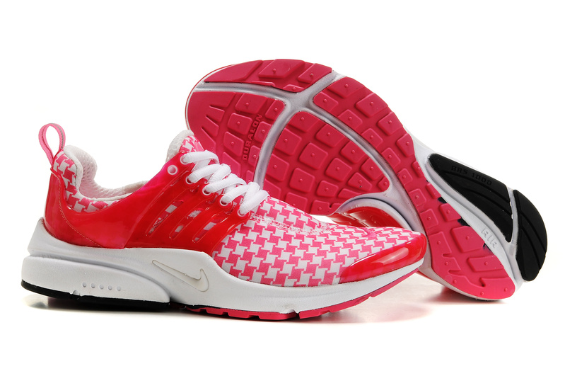 Air Presto Womens Shoes white/red/black