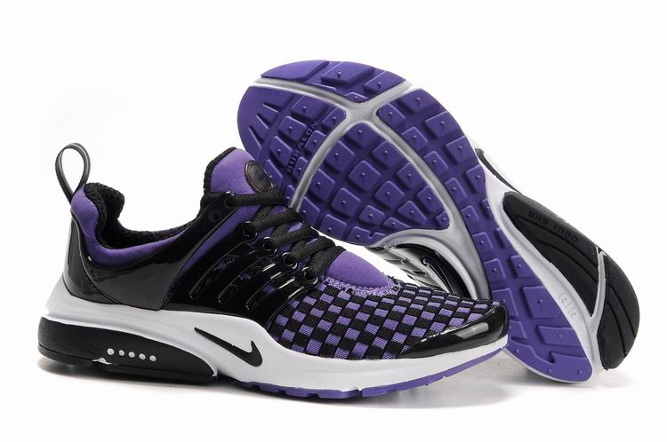 Air Presto Woven white/black/blueviolet