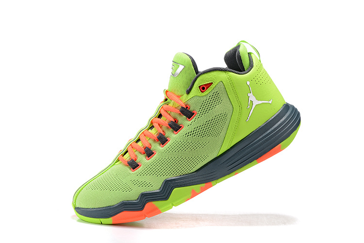 Jordan CP3.IX AE YellowGreen/Slivev/Black