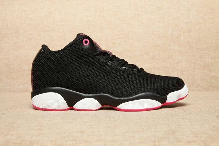 Jordan Horizon Low Black/White/Deeppink