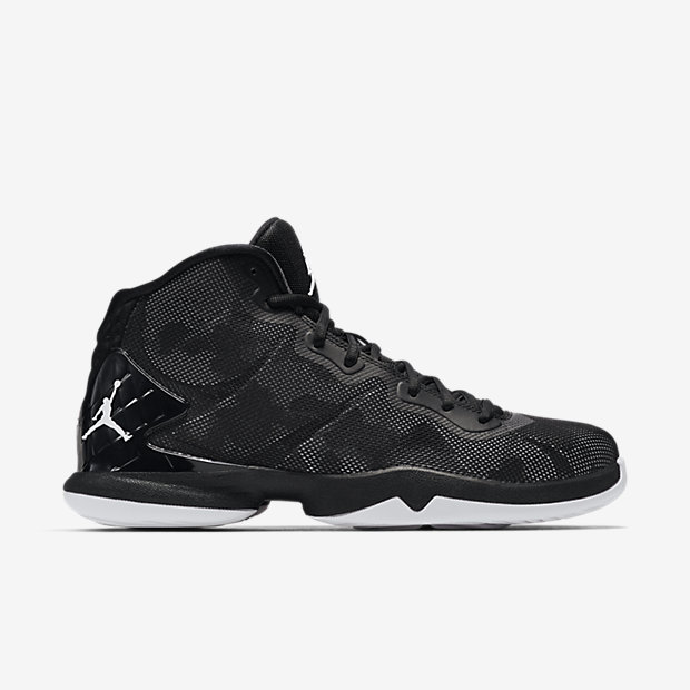 Jordan Super.Fly 4 Basketball Shoe Black/White