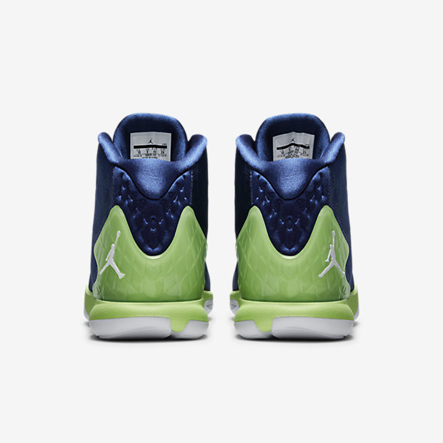 Jordan Super.Fly 4 Basketball Shoe Blue/Green