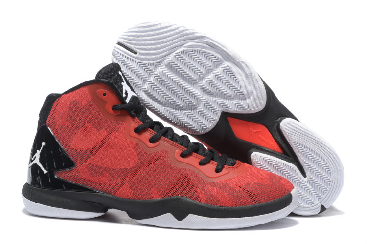 Jordan Super.Fly 4 black/red/white