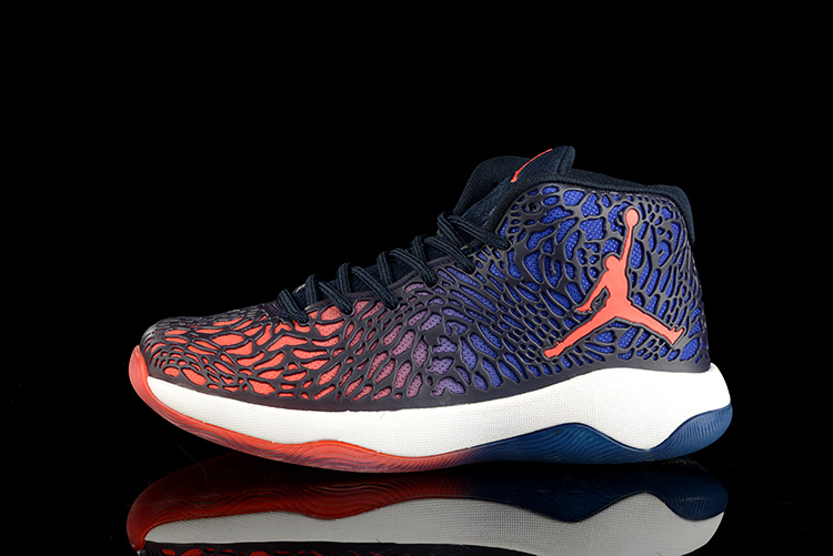 Jordan Ultra.Fly Obsidian/Deep Royal Blue/Infrared 23