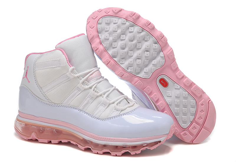 Jordan 11 Air Max Fusion Women white/pink