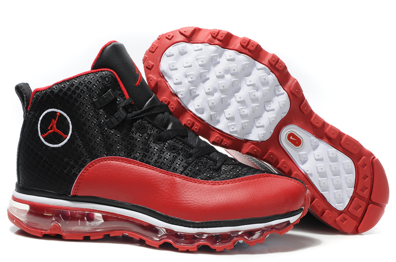 Jordan 12 Air Max black/white/red