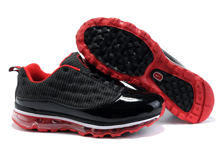 Jordan 13 Air Max Low black/white/red