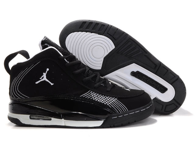 Jordan Team ISO Shoes black/white