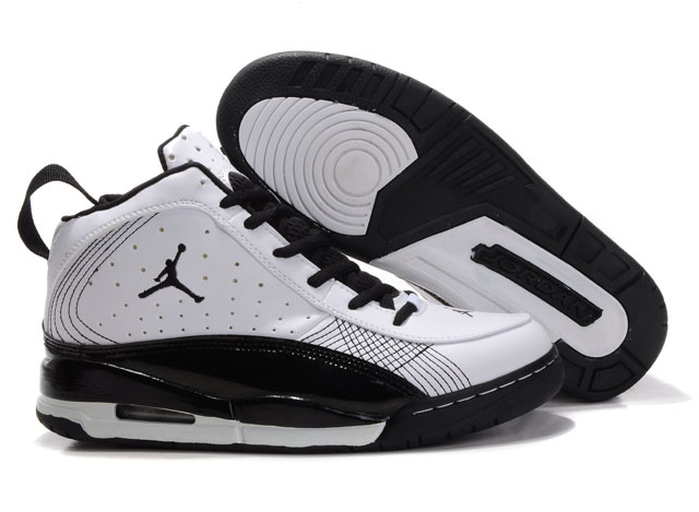 Jordan Team ISO Shoes black/white II