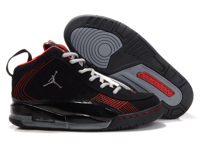 Jordan Team ISO Shoes black/red/gray