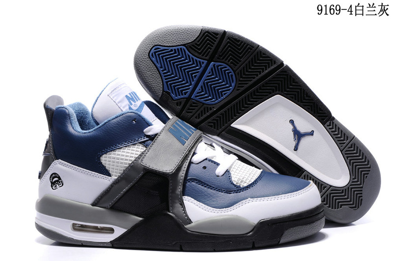Nike Air Jordan IV black/white/Navy