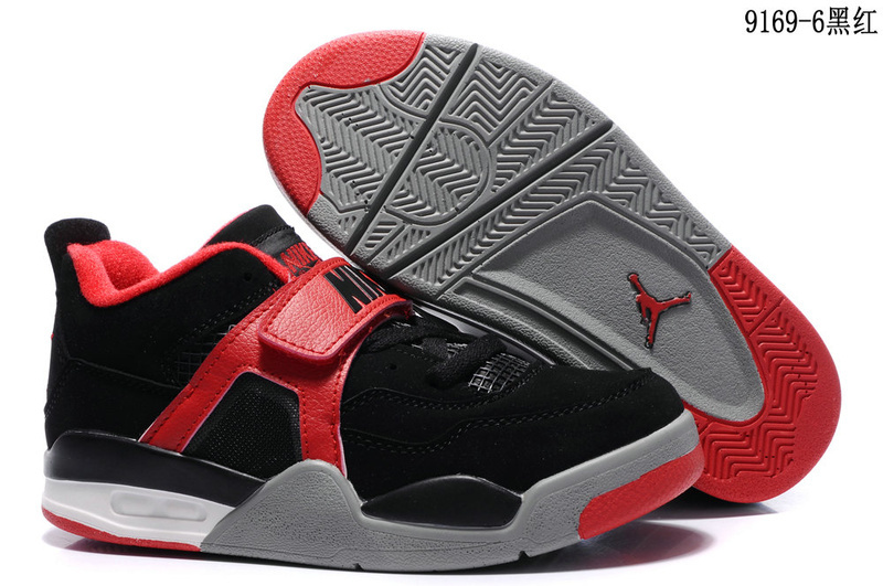 Nike Air Jordan IV black/white/red II