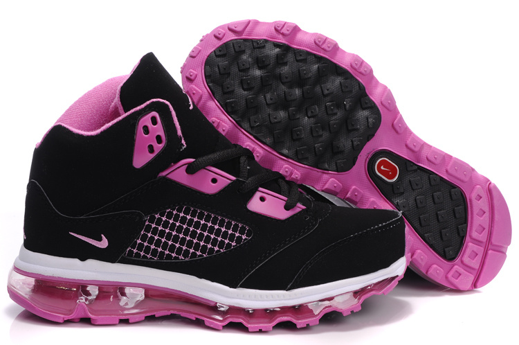 Jordan 5 Air Max Womens black/white/deeppink