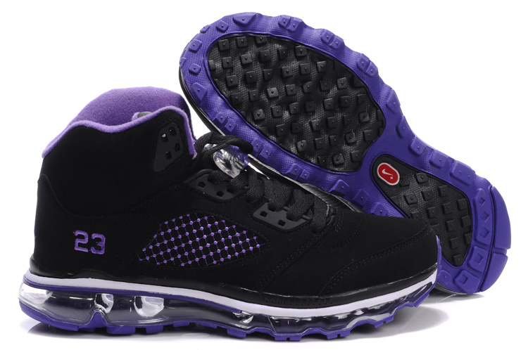 Jordan 5 Air Max black/white/blueviolet