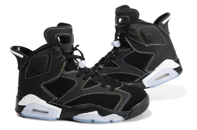 Air Jordan Retro 6 Womens black/white