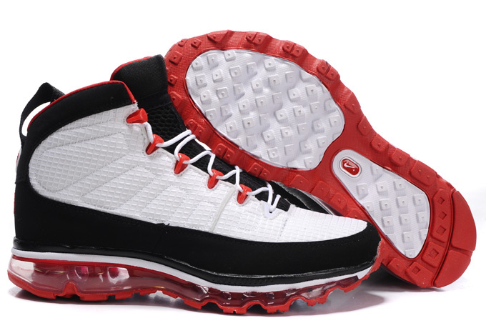 Jordan 9 Air Max black/white/red III