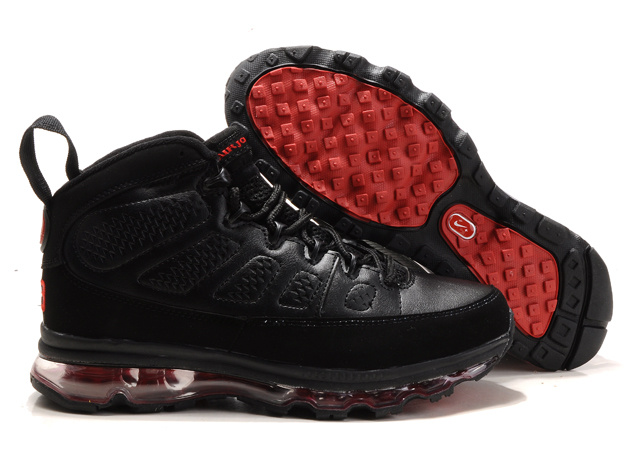Jordan 9 Air Max black/red III