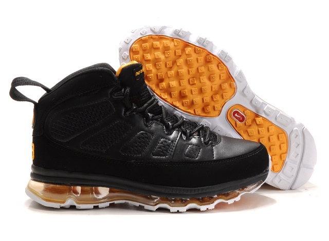 Jordan 9 Air Max black/white/orange