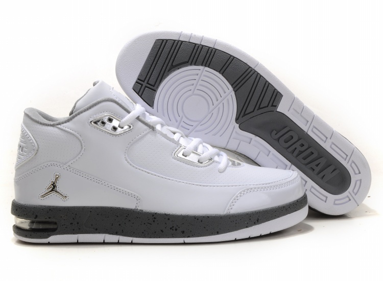 Jordan After Game Shoes gray/white
