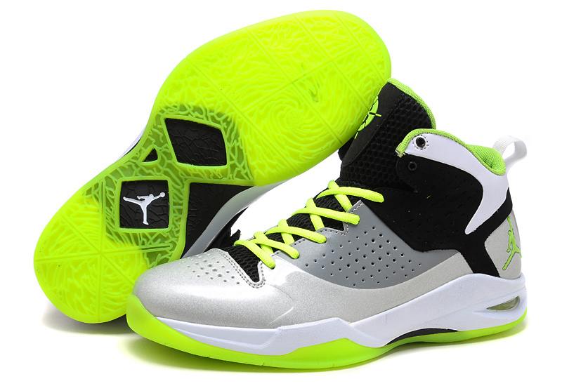 Jordan Fly Wade 2011 black/white/lawngreen