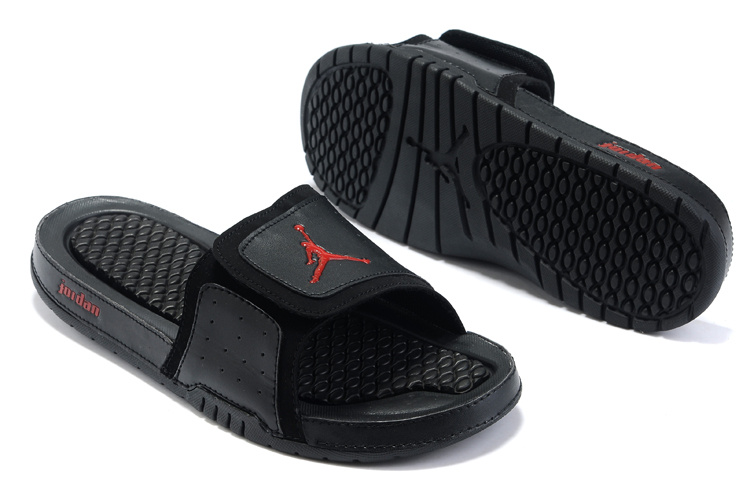 Jordan Hydro 2 Sandals black/red