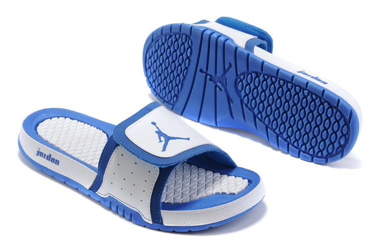 Jordan Hydro 2 Sandals white/dodgerblue