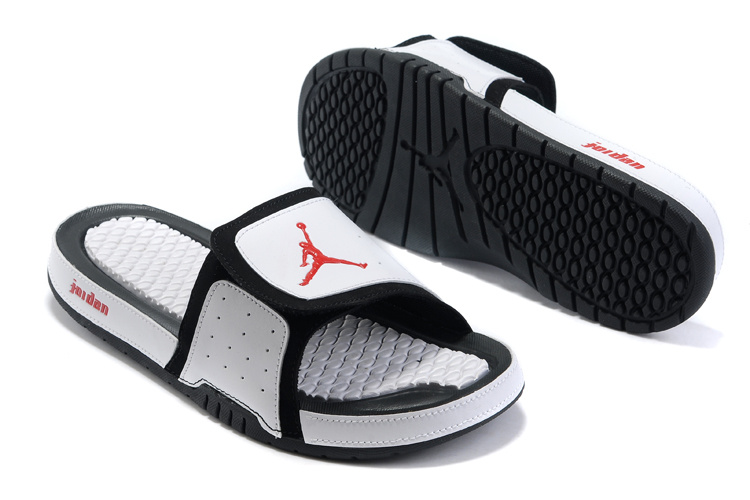 Jordan Hydro 2 Sandals black/white/red II