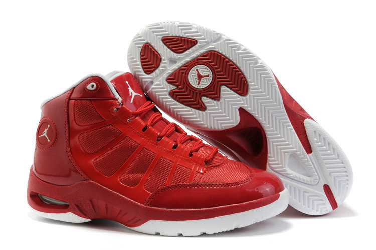 Jordan Play In These Shoes red/white