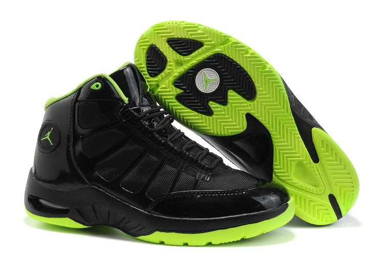Jordan Play In These Shoes lawngreen/black